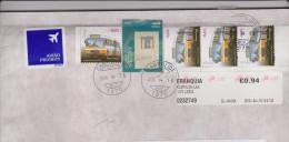 PORTUGAL, Transports; Bus (x 4) Sur Lettre 2016 - Bus