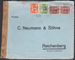 Netherlands To Germany Reichenberg / CENSORSHIP - ZENSUR / Opened By Obercomando Der Wehrmacht - Periode 1891-1948 (Wilhelmina)