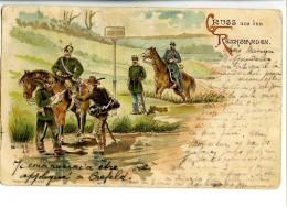 17411   -   Allemagne   -   Gruss Aus Den Reichslanden - 1900 - Dogana