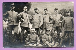 Foto-cartolina Militare - Gruppo Di Soldati- MIL65 - Guerra, Militari