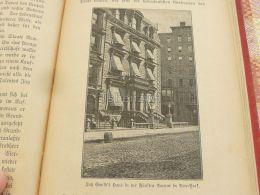Jan Kould House In New York Engraving Print 1895 - Prints & Engravings