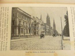 William Henry  Vanderbilt Palace New York Engraving Print 1895 - Prints & Engravings