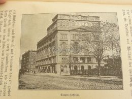 Cooper Institute USA America Engraving Print 1895 - Prints & Engravings