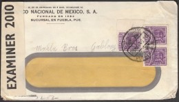 Mexico 28.11.1941 To Czech Gablonz / CENSORSHIP - ZENSUR / Opened By Examiner 2010 And Obercomando Der Wehrmacht - Mexico