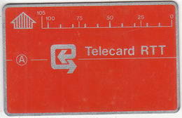 BELGIUM - RTT-telecard 105 Units(D 06), CN : 4B2 + 6 Digits, Used - Belgium