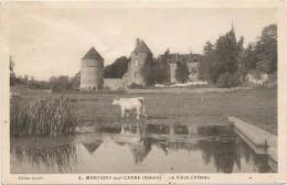 Montigny Sur Canne Le Vieux Chateau Circulee En 1943 - France