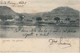 1906 SUDAN AK KOROSKO-Landansicht-Gel. Arabische STEMPEL WADI HALFA-e805 - Sudan