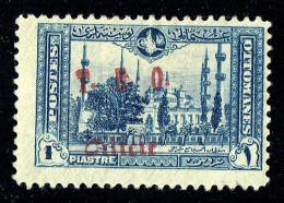 CILICIE 1919   Mosquée Du Sultan Ahmed 1er    . - Surcharge T.E.O. Cilicie   Yv 70 * MH - Cilicien (1919-1921)