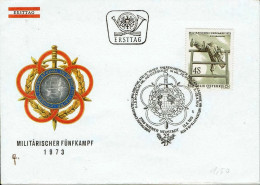 Österreich / Austria - Mi-Nr 1418 FDC (N374) - Militaria