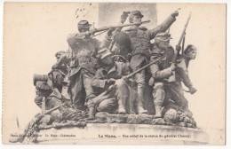 France, Le Mans, Bas Relief De La Statue Du General Chanzy, Unused Postcard [18134] - Le Mans