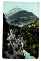 VER3247 - SVIZZERA Train Treno GOTTHARDBAHN BEI INTSCHI - Suisse
