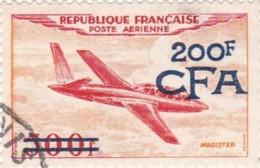 Timbre REUNION (CFA) N° 54° P.A. - Réunion (1852-1975)