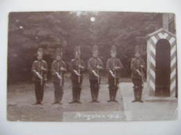 Ancien Photo Garden Militaire ,Armée Prusse Allemande Les Soldats Et Officiers : Deutsch Soldaten Und Offiziere Ww1 - Militair