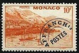 "Monaco Préo YT 5 "" Vue 10F. Jaune Orange "" 1943-51 Neuf ** - Monaco"