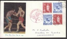 Japan 1957 / Boxing, Athletics, Gymnastics - Boxen