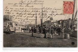Hérault : Agde : Déchargement - Agde