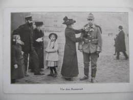 Ancien Photo ,prusse Allemande,soldats,officiers : Deutsch Soldaten Und Offiziere Ww1 - Militair