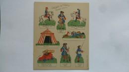 (Editions Willeb - Découpage Carton....) -  Soldats De France - Epoque Louis XIV  (planche 1.......voir Scan Et Détails) - Army