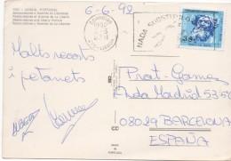 3048   Postal  Lisboa , 1992 Portugal - Cartas