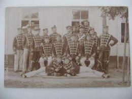 Ancien Photo Hussare,prusse Allemande,soldats,officiers : Deutsch Soldaten Und Offiziere Ww1 - Militair