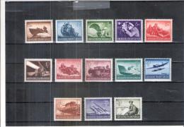 Allemagne Reich - Yv.791/803 - Série Complète - X/MH - Neufs