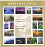 USA 2016 #5080 National Parks Sheet Of 16 X 0.49c  MNH** Nature Fauna Ships Birds - United States