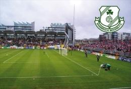 Stadium Tallagh (Shamrock Rovers FC,Ireland) Postcard - Size: 15x10 Cm. Aprox - Fútbol