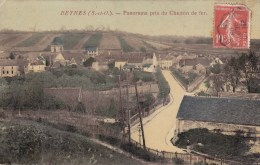BEYNES PANORAMA PRIS DU CHEMIN DE FER  78 - Beynes