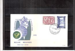 Expo 58 - FDC Belgique (à Voir)