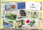 Lot 100 Timbres Finlande - Vrac (max 999 Timbres)