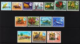 1966. INDEPENDENCE 11th November 1965. Complete Set With14 Ex.  (Michel: 9-22) - JF194683 - Rhodesia (1964-1980)