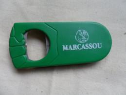 ANCIEN DECAPSULEUR  PUB / MARCASSOU - Tire-Bouchons/Décapsuleurs
