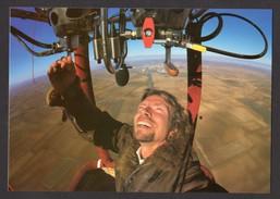 Richard Branson 1st Solo Flight Spain Jan 1987 Virgin Atlantic Airways Balloon Unused Card - Famous People