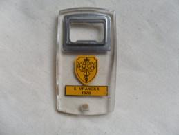 ANCIEN DECAPSULEUR  PUB / A. VRANCKX 1978 - Bottle Openers