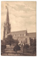 Dorking, St Martin´s Church - F Frith & Co Ltd, Reigate - Postmark 1914 - Surrey