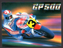 Honda GP500 Bernard Hugill Unused Card - Motorbikes