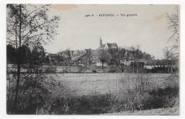 ALTKIRCH EN 1929 - N° 3360 B - VUE GENERALE - CPA  VOYAGEE - Altkirch