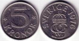 Sweden - 5 Kronor 1976 - Sweden
