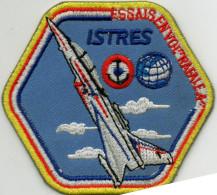 """Superbe écusson ISTRES, Essais En Vol De L'avion De Combat  """"rafale"""" (ec3.) - Ecussons Tissu"""