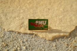 Pin's PMU Le Louisiana Ernée 53 Mayenne Cheval - Tiere