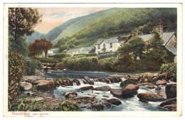 Rockford Near Lynton (Exmoor) Early - Pictorial Stationery - Postmark 1904 - England