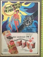 TRES BELLE PUB PUBLICITE BISCUITERIE NANTAISE BN CETTE MONTRE DE PRECISION - Collections