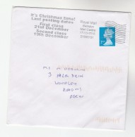 2015 Swindon GB Stamps COVER SLOGAN Pmk ITS CHRISTMAS TIME LAST POSTING DATES 1ST CLASS  21 DEC - 1952-.... (Elizabeth II)