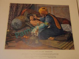 1958, Medecine In Picture - Rhazes And Arabic Medecine - 34 X 42  Cm - 1 Scans - Lithographies
