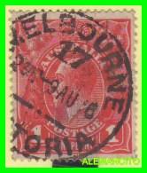 AUSTRALIA   ( OCEANIA )  SELLO AÑO 1914 - 1913-36 George V : Heads