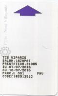 Carte Parking : Paris - Nord Villepinte : Salon Japan Expo 07/07/2016-10/07/2016 - Autres Collections