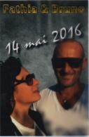 Carte Pellicule Personnalisée : Marriage Ou Anniversaire ? : Fathia & Bruno 14 Mai 2016 - Autres Collections