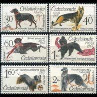 CZECHOSLOVAKIA 1965 - Scott# 1312-7 Dogs Set Of 6 LH - Tsjechoslowakije