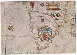 ATLAS De Fernao Vaz Dourado C. 1576 - Representacao Da Africa Austral  - (Biblioteca Nacional De Lisboa) - Cartes Géographiques