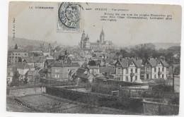 (RECTO / VERSO) EVREUX EN 1904 - N° 2427 - VUE GENERALE - BEAU CACHET - CPA - Evreux